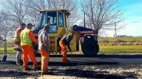 El senador Lisandro Enrico informó que se iniciaron los trabajos sobre la ruta de Cafferata