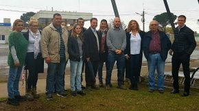El senador Enrico entregó fondos para construir una nueva Comisaría en María Teresa