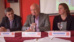 Menghini con apoyo del ex gobernador Antonio Bonfatti
