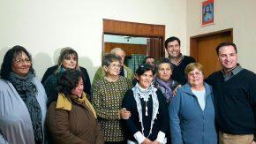 El senador Enrico gestiona para el progreso de las instituciones