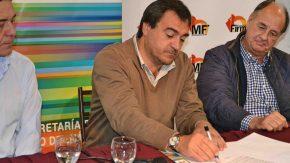 Se firmó el contrato para el inicio de las obras