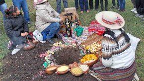 Ceremonia de laPachamama