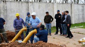 Se inició la construcción de la Planta Reguladora de Gas N° 2
