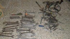 En un allanamiento se recuperó parte de las herramientas robadas hace unos días en una metalúrgica
