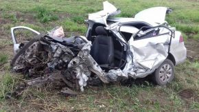Fallece un policía de Drogas Peligrosas al volcar un auto en RP 93 camino a Melincué