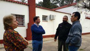 Lisandro Enrico visitó la escuela rural de Paraje Rabiola
