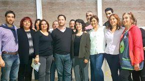 Lisandro Enrico acompaña con gestión los proyectos de las instituciones de Wheelwright
