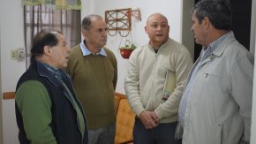 Fernández visitó instituciones junto al diputado Pieroni