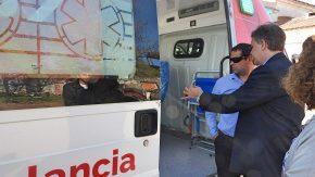 El Hospital recibió una ambulancia de alta complejidad