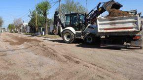 Comenzaron las obras en barrio Fredriksson