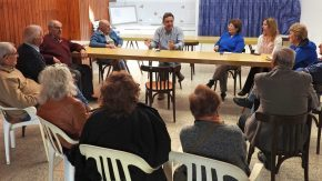 El intendente Maximino se reunió con la nueva Comisión Directiva del Centro de Jubilados  y Pensionados Nacionales