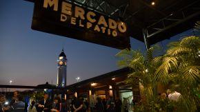 Inauguró el Mercado del Patio, el paseo gastronómico más grande del país