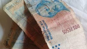Los billetes de 2 pesos se podrán canjear por monedas hasta abril de 2018