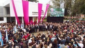 Inauguró en Venado Tuerto el hospital público más moderno de Argentina
