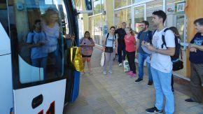Relevan información sobre el transporte público de pasajeros sobre el corredor de la RN 33