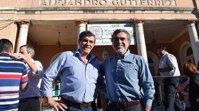 Pieroni participó de la despedida al viejo hospital Gutiérrez