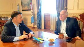 Enrico solicitó a Lifschitz avanzar con distintas obras en el Departamento General López