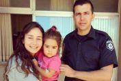 Un oficial de policía salvó la vida de una nena de 3 años que cayó a una pileta en Murphy