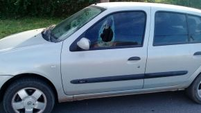 Vandalismo en las calles del barrio Carlos Casado
