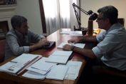 Pieroni y Freyre se reunieron para definir agenda de prioridades