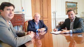 El senador Enrico se reunió con el gobernador y le solicitó obras para la región