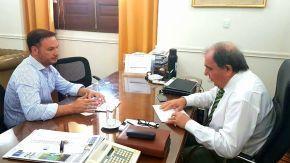 El senador Enrico continúa su reclamo de obras públicas para la región