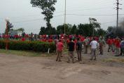 Paro y protesta en Vassalli