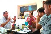 Enrico y Picinato juntos en búsqueda de obras para Elortondo