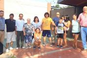 El senador Enrico con trabajo y gestión acompaña el esfuerzo de las instituciones de Miguel Torres