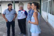 El diputado Real y la concejal Peotta hicieron entrega de subsidio  al Club Fredriksson