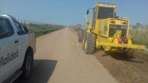 Vialidad Provincial ejecuta obras en caminos rurales de la región