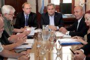 Se realizó la primera reunión paritaria de la administración central
