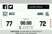 Argentino perdió ante Sport y quedó fuera de los playoffs