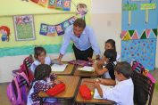 El intendente Maximino recorrió escuelas en el inicio del Ciclo Lectivo 2018