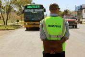 Intensifican los controles del transporte de pasajeros
