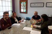 La comuna de Chañar Ladeado suscribió un convenio con el Colegio de Arquitectos de Venado Tuerto