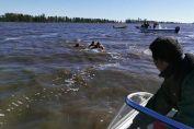 Encontraron un cuerpo en la laguna
