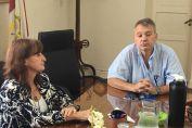 """Diputado Real: """"La ministra atendió cada sugerencia nuestra en el sentido de avanzar con mejoras en las políticas de salud de la ciudad de Firmat"""""""