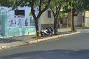 Discusión y un herido de bala en barrio Carlos Casado