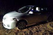 Recuperaron abandonado un auto que había sido robado minutos antes