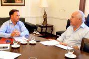 Enrico pidió al gobernador Lifschitz la ejecución de obras en todas las localidades de la región