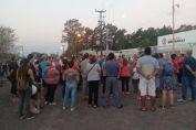 Unos 50 vecinos marcharon hacia Vassalli
