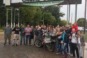 El intendente recibió a Ezequiel Ghigo luego de su viaje en moto hasta Alaska