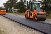 Optimizan la Ruta Provincial 93 con obras desde Berabevú a Melincué