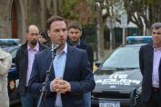 El Senador Enrico participó de la entrega de 20 nuevos patrulleros a la ciudad