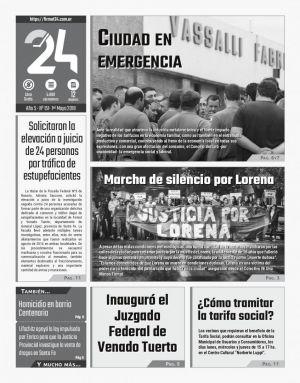 Diario. Firmat24 periódico. Edición Nro 151.