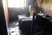 Detuvieron a una mujer acusado de incendiar una vivienda