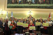 """Pieroni: """"Dimos otro paso fundamental en la lucha por la igualdad y los derechos de las mujeres"""""""