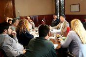 El senador Enrico mantuvo una mesa de trabajo con los concejales de Venado Tuerto