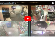 [Video] Robaron en un kiosco este sábado a la madrugada